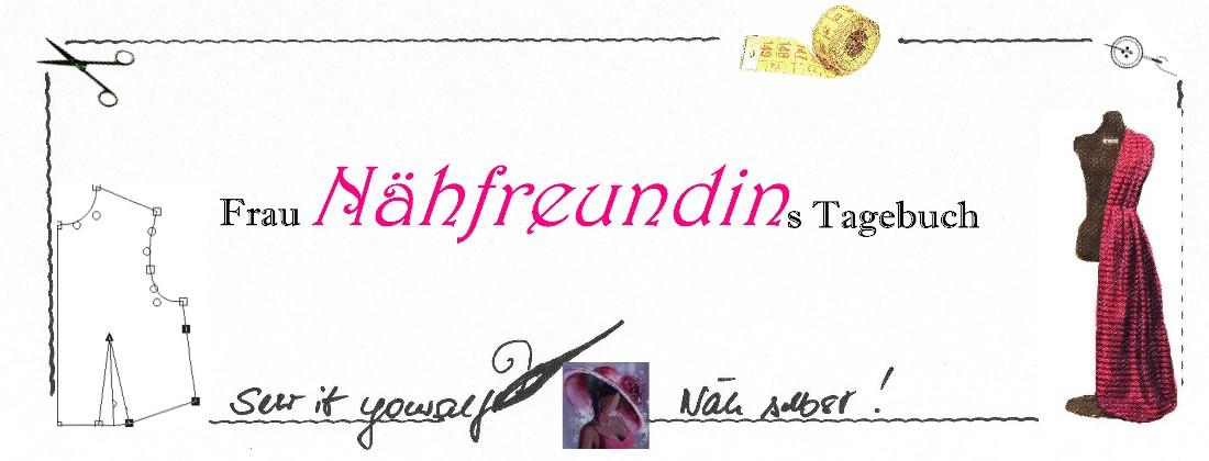 Frau Nähfreundins Tagebuch