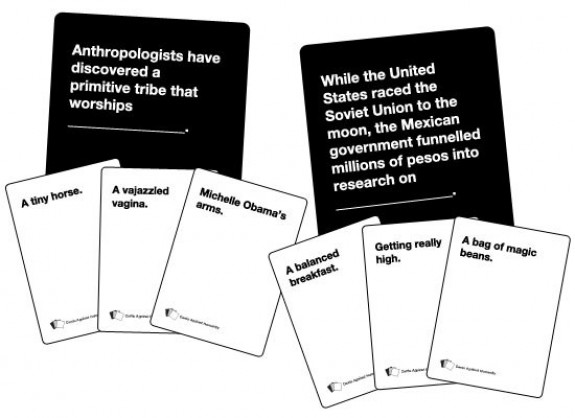 My life as a geek cards against humanity today they released a 2nd expansion pack for the extremely fun cards against humanity if you havent heard of this game look it up if you havent played bookmarktalkfo Image collections