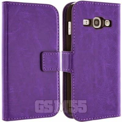 Housse violette pour Samsung Galaxy Ace 3 S7270
