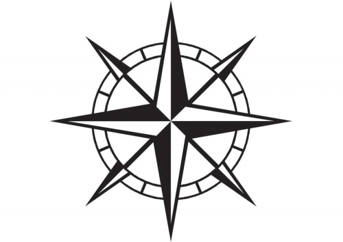 Free Compass Coloring Pages