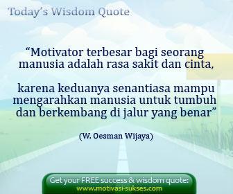 Kata - Kata Motivasi (Mengubah kepribadian)
