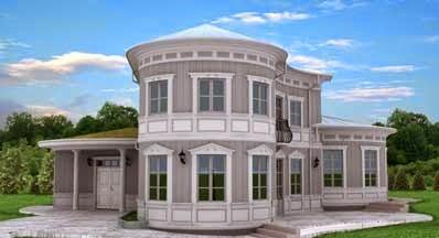 Fachadas de casas modernas fachadas de casas modernas y for Casas modernas redondas