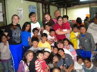Classroom I taught in Quito Ecuador
