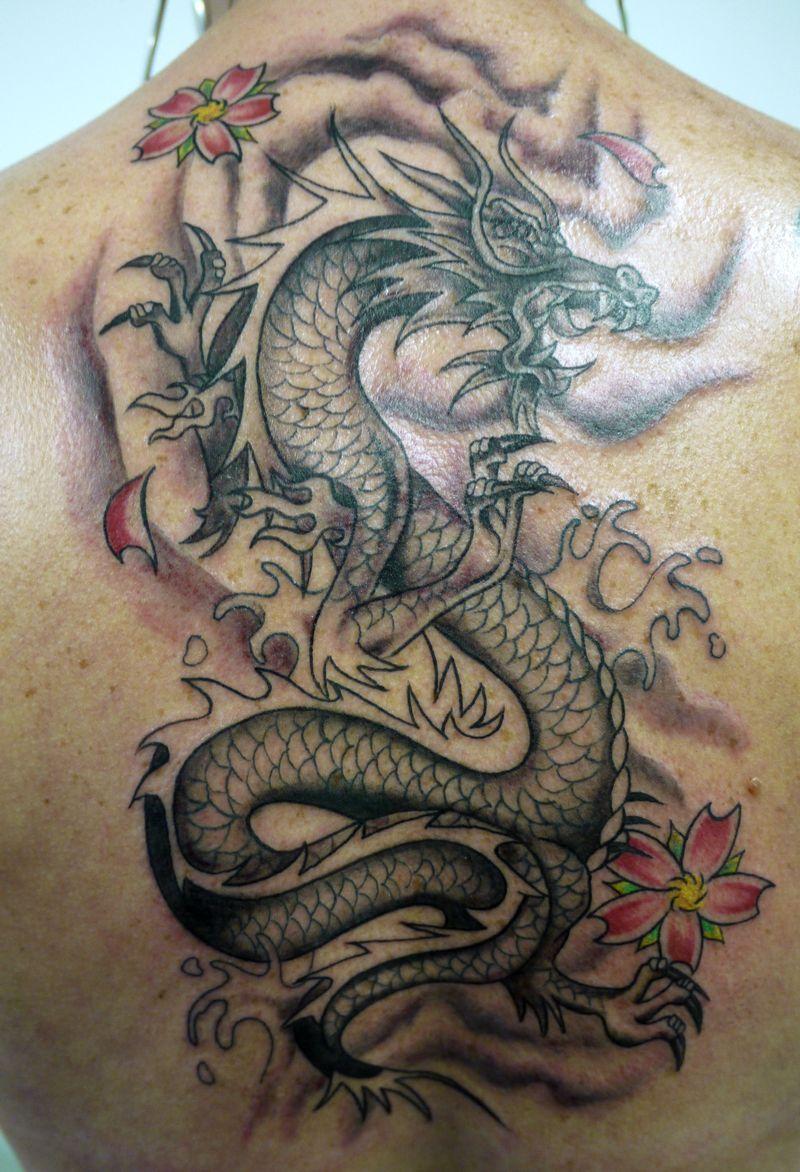 tattoos designs splendid china dragons tattoo. Black Bedroom Furniture Sets. Home Design Ideas