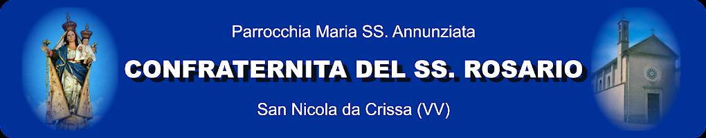 Confraternita del SS. Rosario - San Nicola da Crissa (VV)
