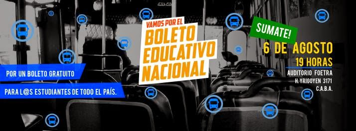 Boleto Educativo Nacional
