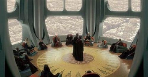 Obi Wan Kenobi Alto_Consejo_Jedi_en_el_Templo_Jedi_de_Coruscant