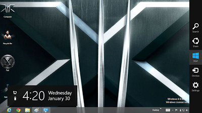 X Men The Wolverine Theme For Windows 8