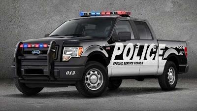 Picape F-150 ganha versão policial nos EUA