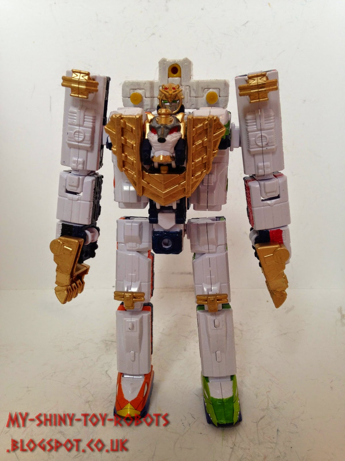 Robot mode front view