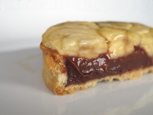 Pâtisserie Christian Constant Paris - Tarte Sonia Rykiel banane-chocolat