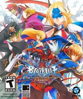 Gameplay BlazBlue Continuum Shift Extend