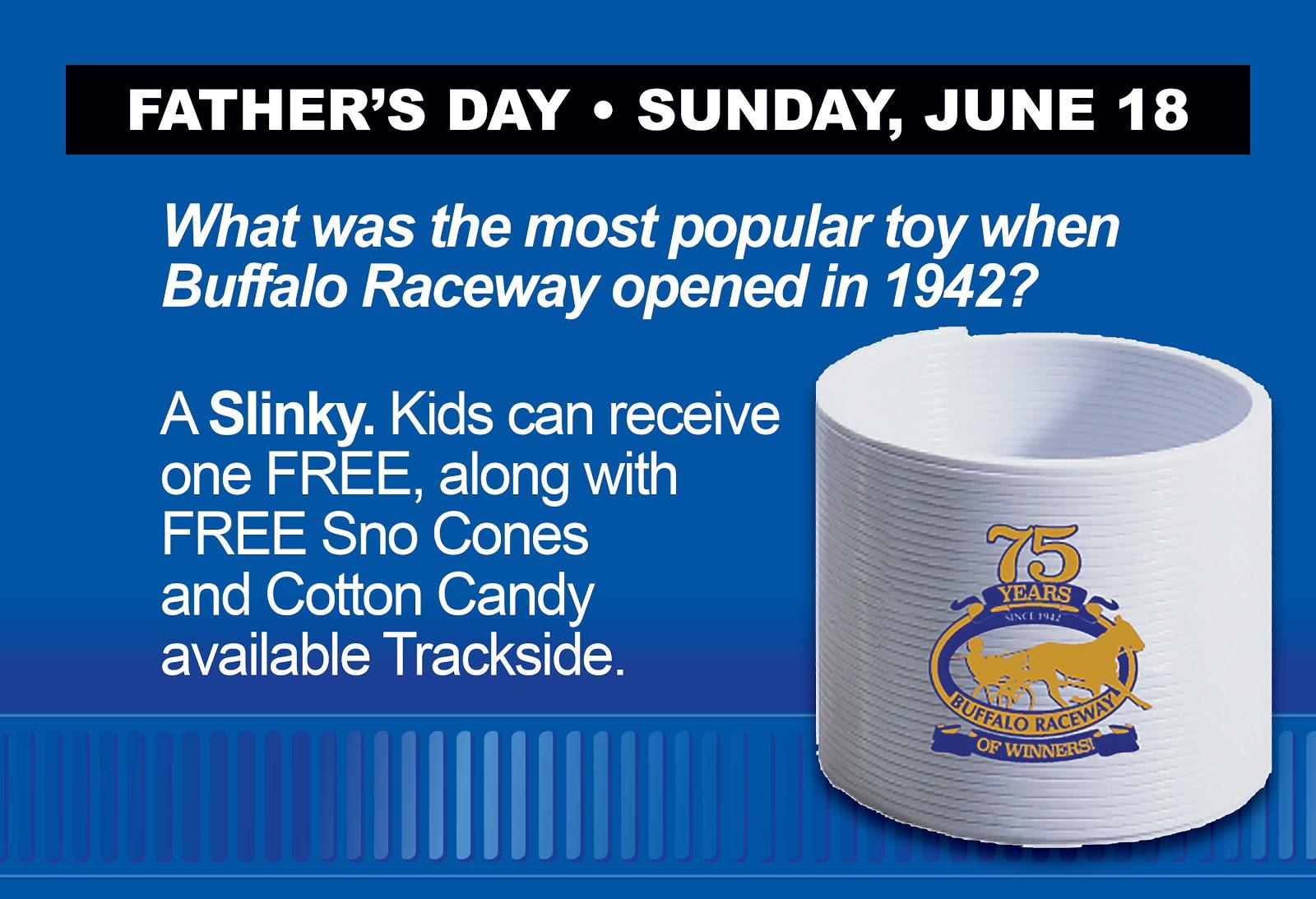 Free Buffalo Raceway Slinky