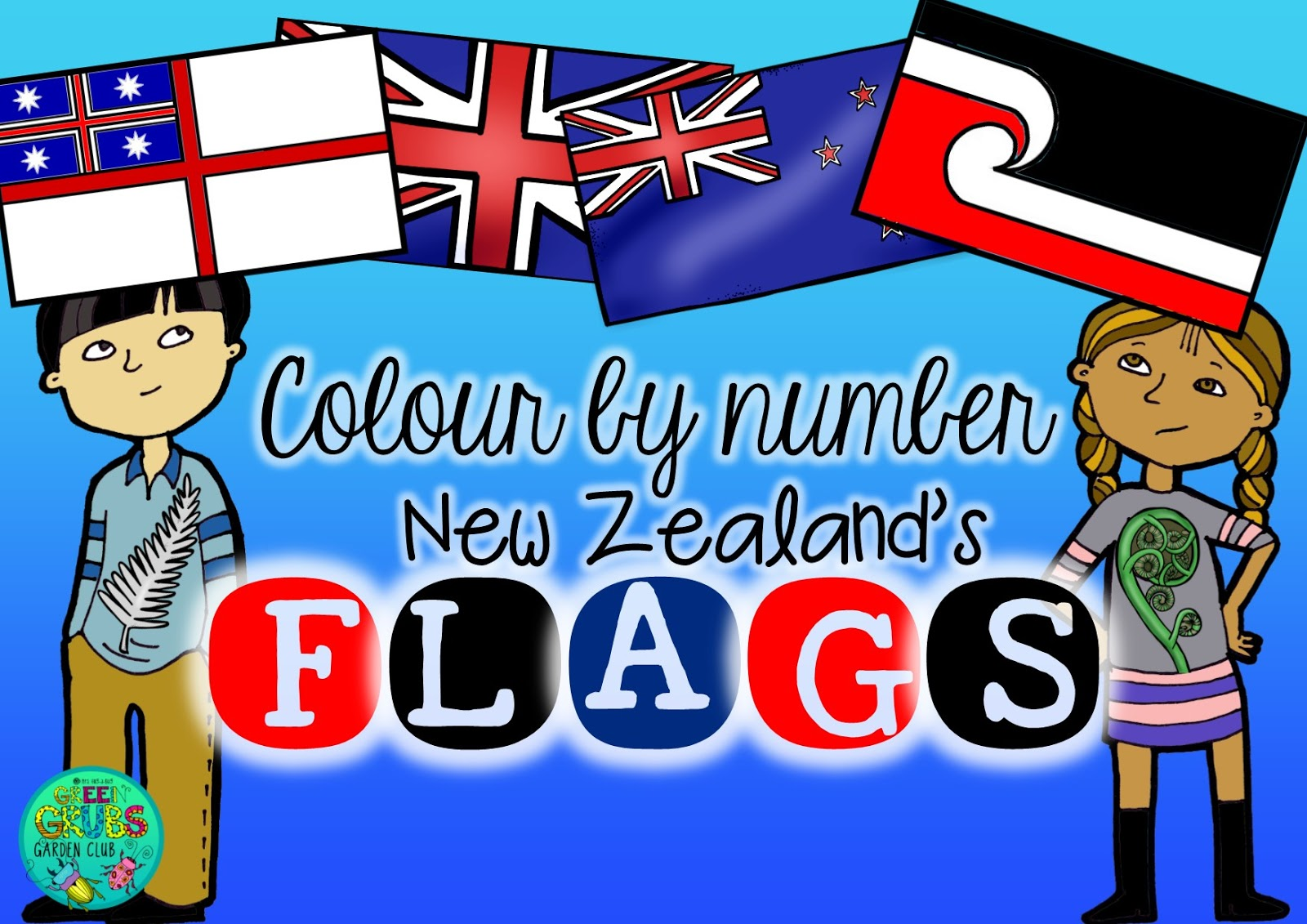 Green Grubs Garden Club: NZ flag Referendum 2015-16 {Free colour by ...
