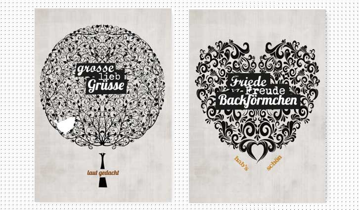 Postkarte Lomyli Design