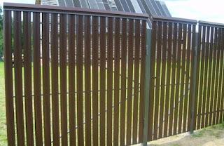 Забор штакетник из профлиста. Фото 16