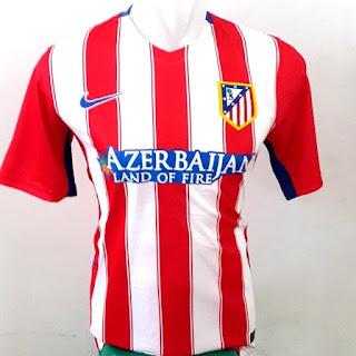 gambar detail terbaru jersey musim depan Jersey Atletico Madrid home Official terbaru musim 2015/2016 di enkosa sport harga murah home away third