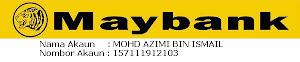 Pembayaran Secara Maybank2U atau Bank-in ke akaun Maybank