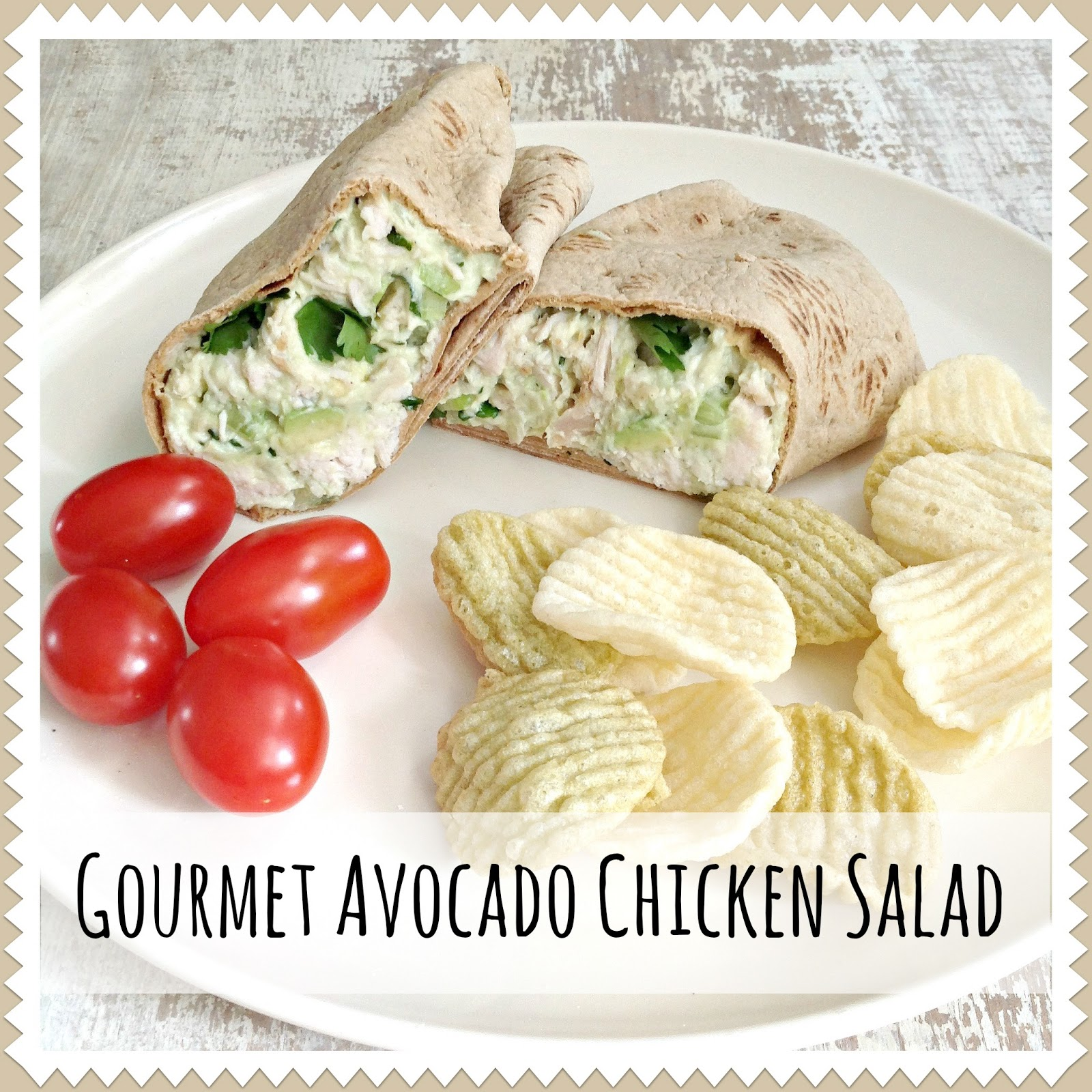Gourmet Avocado Chicken Salad