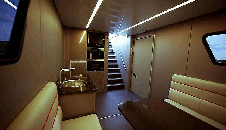 Futuria luxury motorhome fun of world for Interior motorhome designs