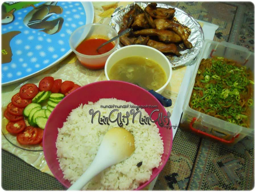 Resipi 26 : Nasi Ayam Panggang Madu