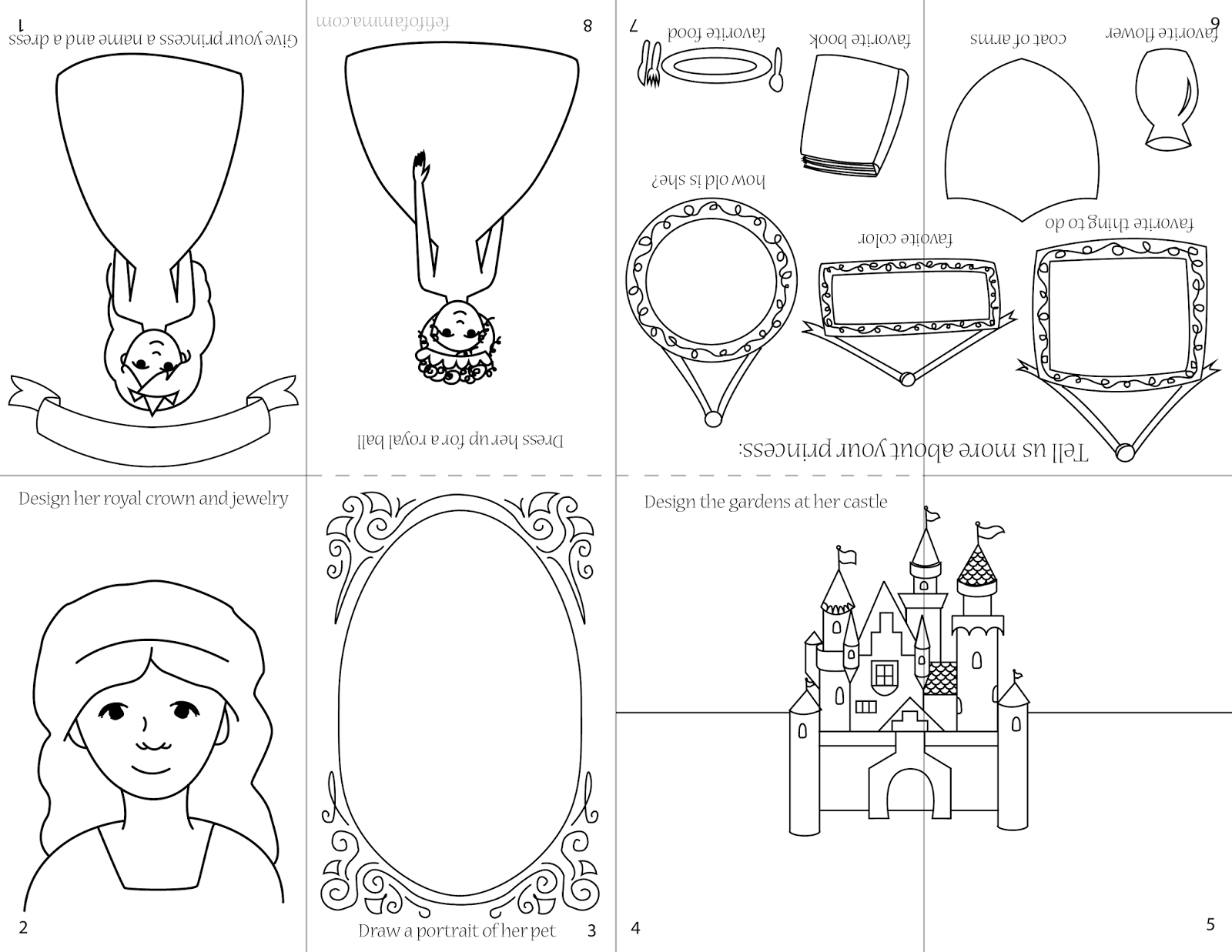 Generic princess coloring pages - Right Click And Select Save Image As To Download Image And Print As A Full Letter Page Don T Fit To Page In Your Printer Settings Or It Will Offset The