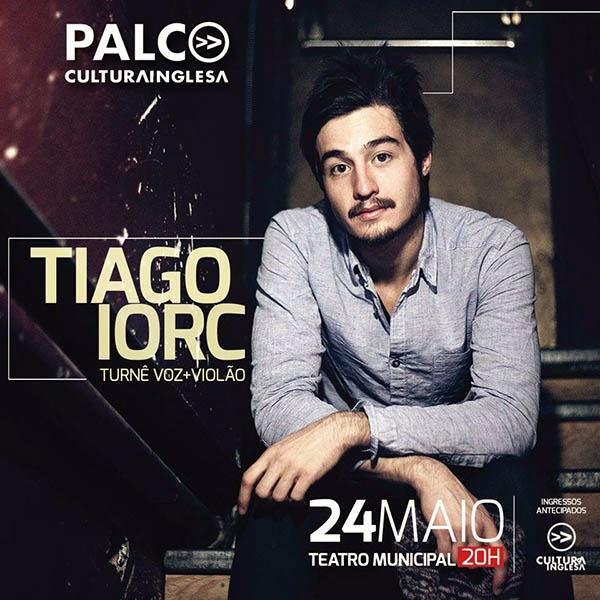 Tiago Iorc faz seu primeiro show em Campina Grande pelo projeto Palco Cultura Inglesa