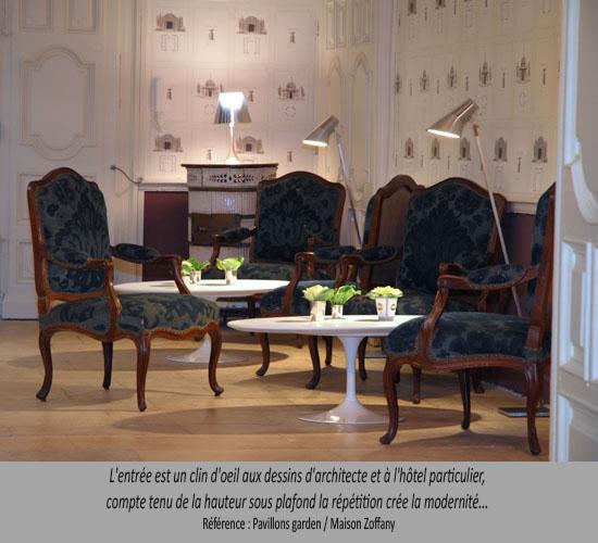 Les news de baudon wallpaper tour balade au fil des for Decor hotel fil