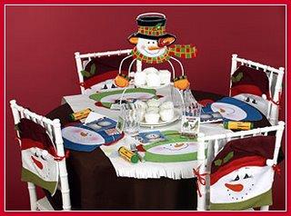 Navidad feliz navidad adornos navide os para las sillas - Adornos navidenos para sillas ...