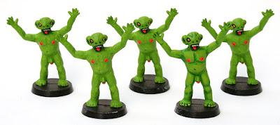 green creatures