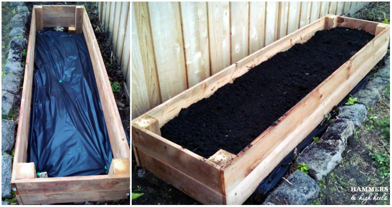 Now, Simply Add Dirt And The Fruit/veggies/flowers Of Your Choice! We Had  Quite A Bit Of Fun Planting Our First Garden Together For This Project And  It Is A ...
