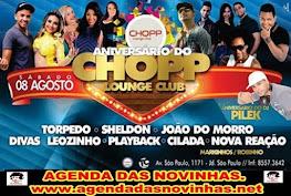 ANIVERSÁRIO DO CHOPP LOUNGE CLUB - JARDIM SÃO PAULO.