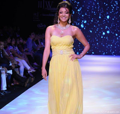 Kajal Aggarwal on the ramp
