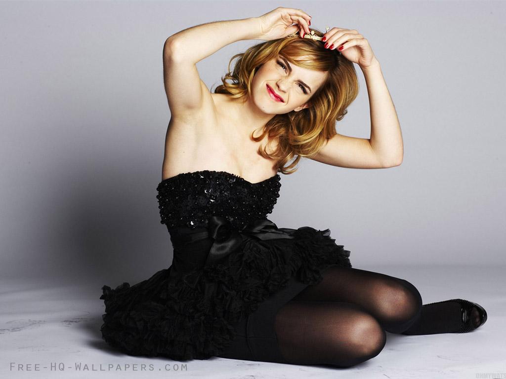 Emma Watson Wallpaper Dress