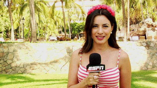 Kary Correa, reportera de ESPN y secretaria en el programa Los Capitanes de ESPN2 | Ximinia