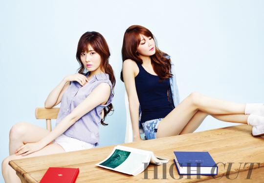 Sooyoung Seohyun High Cut