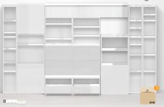 L b architetto la libreria la progetto io for Libreria cubi ikea