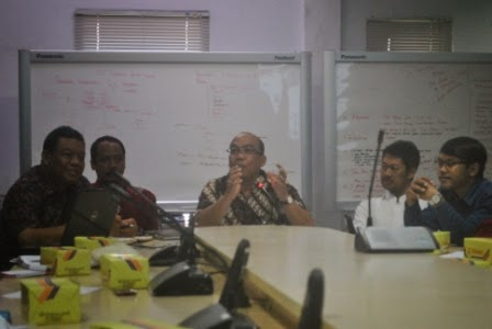 Hearing di Badan Penanggulangan Bencana Daerah (BPBD) Yogyakarta