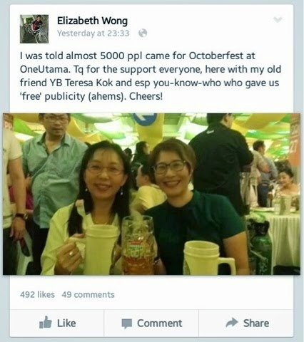 Teresa Kok Eli Wong Hina NikAbduh Ke PAS Nak Diam Diri