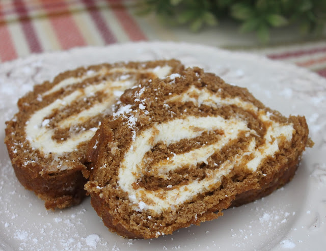 Recipe:  Dessert, Pumpkin Roll with Cream Cheese Filling, Deals to Meals