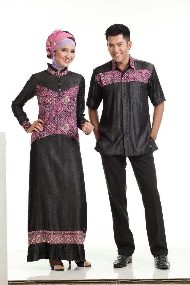 Gamis Batik Sarimbit Couple
