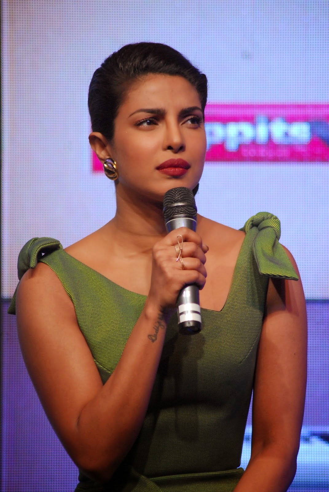 Priyanka Chopra at Hoppit Chocolate Launch Photos