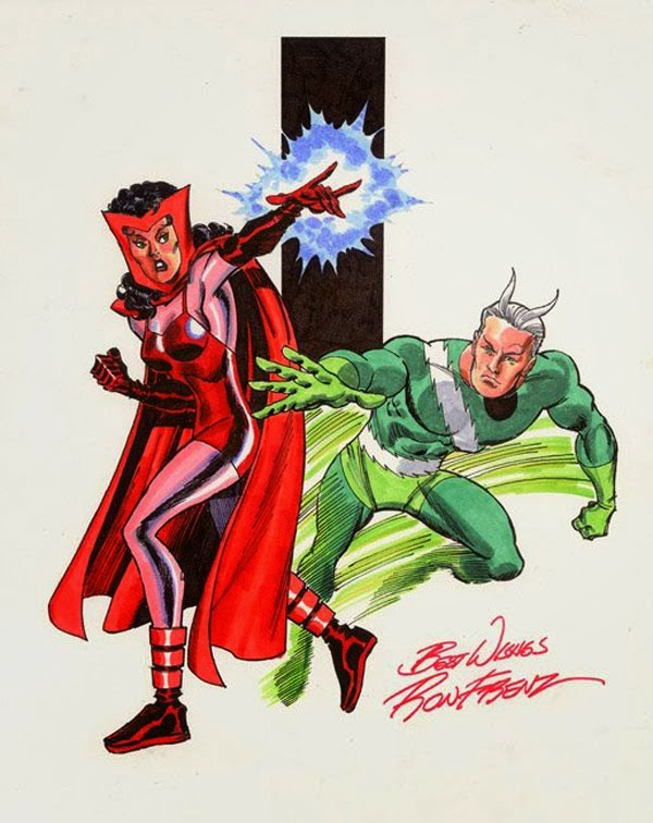 Quicksilver And Scarlet Witch Lovers Eats, Reads & othe...