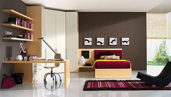 Decorar la habitaci n de un estudiante dormitorios con - Decoracion piso de estudiantes ...