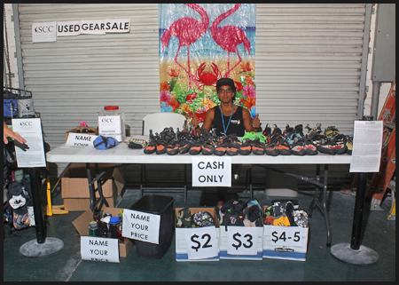 Used gear sale for the Southeastern Climbers Coalition