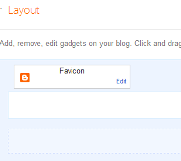 add favicon to Blogger blogs