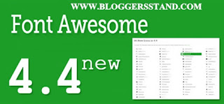 What's New in the latest version of Font Awesome 4.4