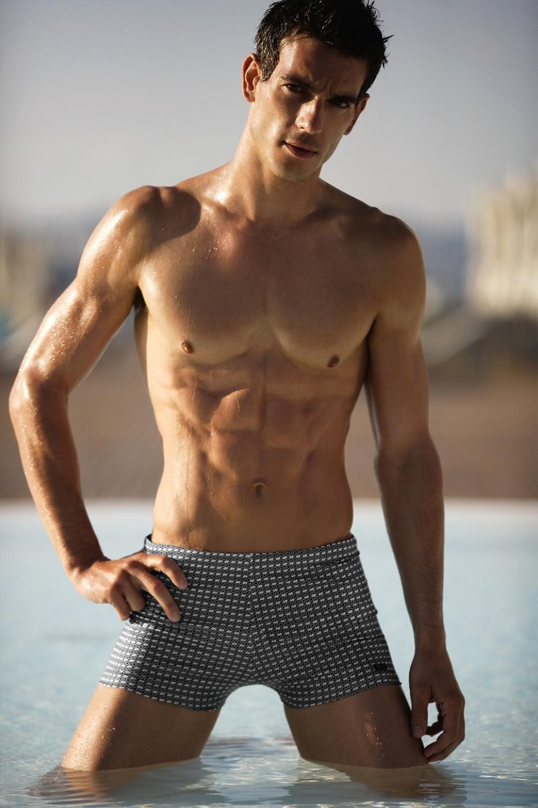 nude black gay model