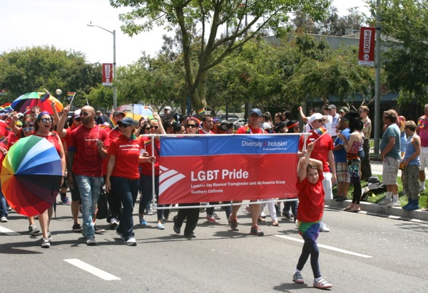 LGBT Pride LA Pride Parade 2013