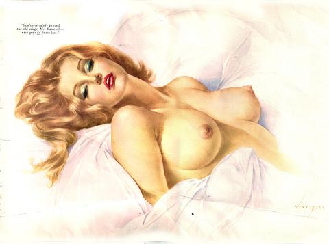 Alberto Vargas, Playboy